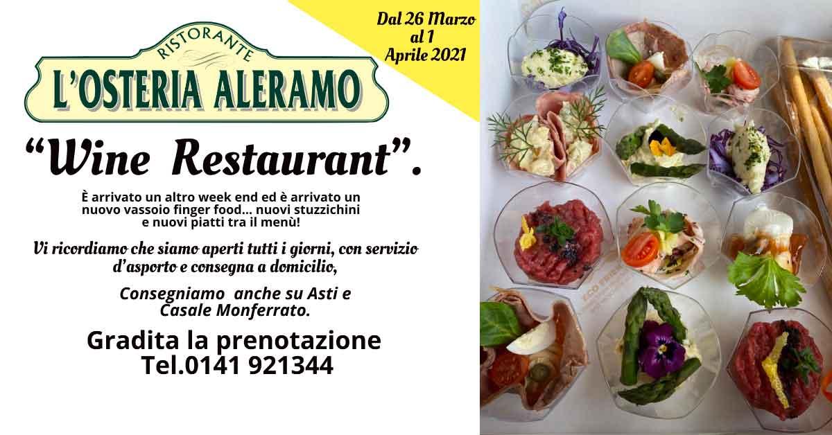 Read more about the article Menù dal 26 Marzo al 1 Aprile 2021